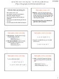 Bài giảng Khí tượng nông học - Bài 4: Chế độ nhiệt của không khí
