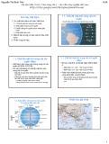 Bài giảng Khí tượng nông học - Bài 7: Khí hậu Việt Nam