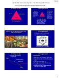 Bài giảng Bệnh cây đại cương: Bài 3b - Học viện Nông nghiệp Việt Nam