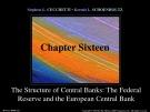 Lecture Money, banking, and financial markets (3/e): Chapter 16 - Stephen G. Cecchetti, Kermit L. Schoenholtz