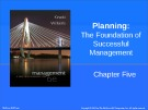 Lecture Management: A practical introduction (6/e): Chapter 5 - Kinicki, Williams
