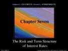 Lecture Money, banking, and financial markets (3/e): Chapter 7 - Stephen G. Cecchetti, Kermit L. Schoenholtz