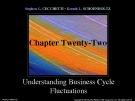 Lecture Money, banking, and financial markets (3/e): Chapter 22 - Stephen G. Cecchetti, Kermit L. Schoenholtz
