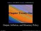 Lecture Money, banking, and financial markets (3/e): Chapter 21 - Stephen G. Cecchetti, Kermit L. Schoenholtz