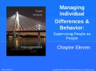 Lecture Management: A practical introduction (6/e): Chapter 11 - Kinicki, Williams