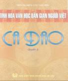 Ebook Tinh hoa văn học dân gian người Việt - Ca dao ( Quyển 3): Phần 1