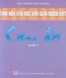 Khám phá tinh hoa văn học dân gian người Việt - Câu đố (Quyển 1): Phần 1