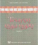 Ebook Tinh hoa văn học dân gian người Việt - Truyện ngụ ngôn ( Quyển 2): Phần 1