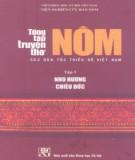 Ebook Tổng tập truyện thơ Nôm của các dân tộc thiểu số Việt Nam (Tập 3): Phần 1