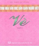 Ebook Tinh hoa văn học dân gian người Việt - Vè (Quyển 1): Phần 2