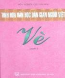 Ebook Tinh hoa văn học dân gian người Việt - Vè (Quyển 3): Phần 1