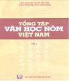 Ebook Tổng tập văn học Nôm Việt Nam - Thơ Nôm Hàn luật (Tập 2: ): Phần 1