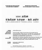 Ebook 1000 năm Thăng Long - Hà Nội (Tập 2): Phần 1
