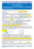 Đáp án bài tập tự luyện: Mạch dao động LC, thu phát sóng vô tuyến