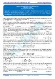 Bài tập tự luyện: Khảo sát độ cứng của lò xo (p1)