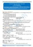 Bài tập tự luyện: Lý thuyết trọng tâm về sắt và hợp chất