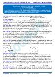 Bài tập tự luyện: Mạch dao động LC, thu phát sóng vô tuyến
