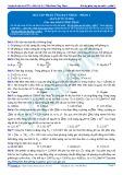 Bài tập tự luyện: Bài tập phản ứng hạt nhân - Phần 1