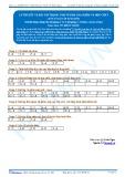 Đáp án bài tập tự luyện: Lý thuyết và bài tập trọng tâm về kim loại kiềm và hợp chất