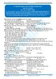 Bài tập tự luyện: Lý thuyết trọng tâm về nhôm và hợp chất