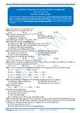Bài tập tự luyện: Lý thuyết và bài tập đặc trưng về đồng và hợp chất