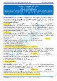 Đáp án bài tập tự luyện: Ôn tập lượng tử ánh sáng