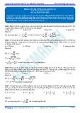Đáp án bài tập tự luyện: Khảo sát độ cứng của lò xo (p1)
