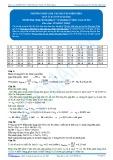 Đáp án bài tập tự luyện: Phương pháp giải các bài tập điện phân