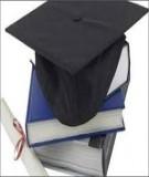 Tóm tắt Luận án Tiến sĩ: Chính sách nhập khẩu dịch vụ Giáo dục đại học trong thời kỳ hội nhập quốc tế ở Việt Nam