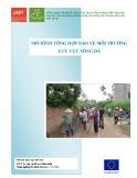 Mô hình tổng hợp bảo vệ môi trường lưu vực Sông Đà