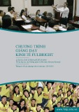 Chương trình giảng dạy kinh tế Fulbright - Thông tin về các chương trình và môn học 2014-2016