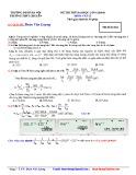 Đáp án đề thi thử Đại học lần 6 (2014) môn Vật lý - Trường THPT Chuyên Đại học Sư phạm