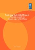Báo cáo Tranh chấp thu hồi đất ở Đông Á: Phân tích so sánh và khuyến nghị đối với Việt Nam