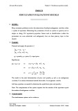 Lecture Advanced Econometrics (Part II) - Chapter 12: Simultaneous equations models