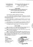Quyết định số: 1220/QĐ-UBND