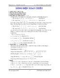 Bài tập Vật lý 12: Dòng điện xoay chiều