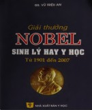 Tìm hiểu về Giải Nobel sinh lý hay y học từ 1901 đến 2007: Phần 1