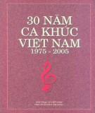 Ebook 30 năm ca khúc Việt Nam 1975-2005: Phần 1