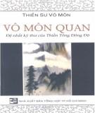 Ebook Vô môn quan - Đệ nhất kỳ thư của Thiền Tông Đông Độ: Phần 1