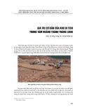 Giá trị cơ bản của khu di tích trung tâm Hoàng Thành - Thăng Long