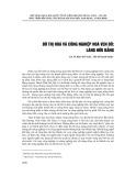 Đô thị hóa và công nghiệp hóa ven đô: Làng Hữu Bằng