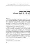 Quản lý đô thị Hà Nội: Thực trạng và giải pháp phát triển