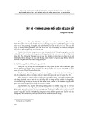 Tây Đô - Thăng Long: Mối liên hệ lịch sử