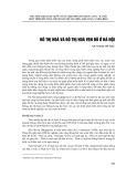 Đô thị hóa và đô thị hóa ven đô ở Hà Nội