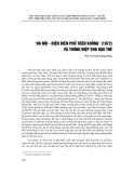 """""""Hà Nội - Điện Biên phủ trên không"""" (1972) và thông điệp cho hậu thế"""
