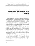 Mối quan hệ Nghệ An với Thăng Long - Hà Nội xưa và nay