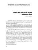 Đôi điều về di tích lịch sử - Văn hóa Thăng Long - Hà Nội