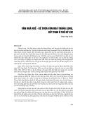 Văn hóa Huế - Kế thừa văn hóa Thăng Long, kết tinh ở thế kỷ XIX