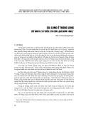 Gia Long ở Thăng Long (từ ngày 21/7 đến 27/9 âm lịch năm 1802)