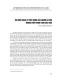 Tìm hiểu hành vi người tiêu dùng của người Hà Nội trong tiến trình toàn cầu hóa